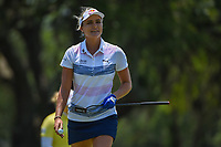 Lexi Thompson (USA) after sinking her putt on 7 during round 1 of the 2019 US Women's Open, Charleston Country Club, Charleston, South Carolina,  USA. 5/30/2019.<br /> Picture: Golffile | Ken Murray<br /> <br /> All photo usage must carry mandatory copyright credit (© Golffile | Ken Murray)