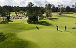 WASSENAAR  (NETH.) - Green hole 1. Golfclub Groendael in Wassenaar. COPYRIGHT KOEN SUYK