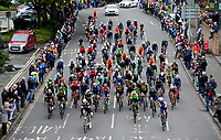 Picture by Simon Wilkinson/SWpix.com - 10/09/2017 - Cycling - OVO Energy Tour of Britain - Stage 8 Worcester to Cardiff - final stage<br /> Roll out start Worcester - start