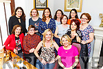 Annette Kennedy from Derrymore East celebrating her 40th birthday in Bella Bia on Friday <br /> Seated l to r: Dolores O'Sullivan, Brid Murphy, Annette Kennedy and Una Flaherty.<br /> Back l to r: Joanne O'Brien, Catriona Greer, Michelle Constable, Marie Gaynor, Kerry Mangan, Cecilia Framptom, Angela Barbato and Edwina Kissane.