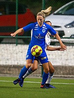 20190823 - OUD HEVERLEE BELGIUM : KRC Genk's  Nikki Janssens pictured during the female soccer game between the OHL Ladies vs KRC Genk Ladies, the first game for both teams in the Belgian Women's Super League , Friday 23rd  August 2019 at the OHL Jeugdcomplex , Belgium . PHOTO SPORTPIX.BE | SEVIL OKTEM