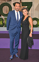 Henri Leconte and Florentine Leconte at the Wimbledon Champions Dinner, The Guildhall, Gresham Street, London, England, UK, on Sunday 16 July 2017.<br /> CAP/CAN<br /> &copy;CAN/Capital Pictures /MediaPunch ***NORTH AND SOUTH AMERICAS ONLY***