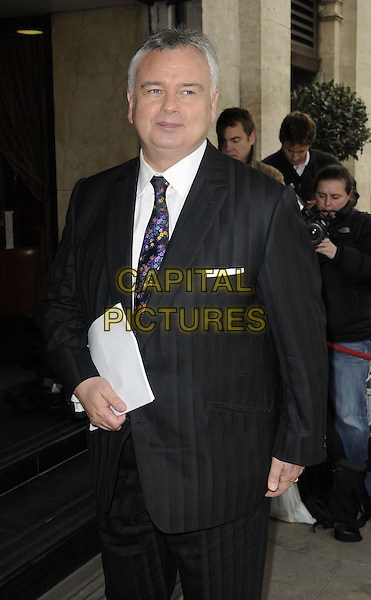 Eamonn Holmes.The TRIC ( TV & Radio Industries Club ) Awards, Grosvenor House Hotel, London, England..March 13th, 2012.half length black suit.CAP/CAN.©Can Nguyen/Capital Pictures.