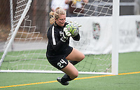 Seattle, WA - Saturday July 16, 2016: Andi Tostanoski prior to a regular season National Women's Soccer League (NWSL) match between the Seattle Reign FC and the Western New York Flash at Memorial Stadium.