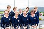 Joe Quinlan Foursomes<br /> Castleisland Golf Club Ladies Team<br /> Front Row L-R<br /> Bertha O'Sullivan, Maria O'Connor (President), Marion O'Connor (Captain), Marie B. O'Connor,.<br /> Back RRow L-R<br /> Catherine Horan, Catherine Walsh, Margaret Sheehan, Ann Stewart, Babs Kelliher.