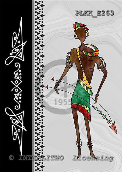 Kris, MODERN, ethnical, paintings, PLKKE263,#n# étnico, illustrations, pinturas