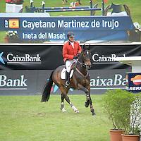 Spanish rider Cayetano Martinez de Irujo