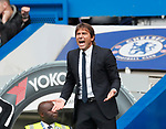 Chelsea Manager Antonio Conte during the premier league match at Stamford Bridge Stadium, London. Picture date 17th September 2017. Picture credit should read: David Klein/Sportimage