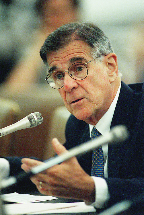 6-9-99.WAYS AND MEANS -- Pete Stark, D-Calif., testifies before the House Ways and Means Committees hearing on proposals certified to save Social Security..CONGRESSIONAL QUARTERLY PHOTO BY DOUGLAS GRAHAM
