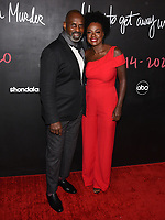 """08 February 2020 - Hollywood, California - Julius Tennon and Viola Davis. """"How to Get Away with Murder"""" Series Finale at Yamashiro. Photo Credit: Billy Bennight/AdMedia"""