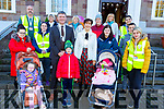 Ready for road at the Red Cross Healthy Steps Active Lifestyle Walking Group get ready for their walk on Sunday L-r, Kayley O'Connor, Michaela Galvin, Trisha Nolan, Cllr: Graham Spring (Mayor of Tralee), Ana Leahy, Cllr: Norma Foley (Mayor of Kerry), Stephanie Nix, Fiadh Kissane, Rachel and Josh Quirke, Cormac Sertutxa, Caroline Leahy, Mags Lynch, Elizabeth Savage, Celine Jones and Dan Quirke.