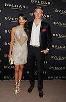 WWW.BLUESTAR-IMAGES.COM  Actor Alexander Ludwig (R) and Nicole Pedra arrive at the BVLGARI 'Decades Of Glamour' Oscar Party Hosted By Naomi Watts at Soho House on February 25, 2014 in West Hollywood, California.<br /> Photo: BlueStar Images/OIC jbm1005  +44 (0)208 445 8588