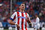 Atletico de Madrid´s Mandzukic during 2014-15 La Liga match between Atletico de Madrid and Deportivo de la Coruña at Vicente Calderon stadium in Madrid, Spain. November 30, 2014. (ALTERPHOTOS/Victor Blanco)