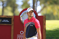 Haydn Porteous (RSA) on the 6th tee during Saturday's Round 3 of the 2018 Omega European Masters, held at the Golf Club Crans-Sur-Sierre, Crans Montana, Switzerland. 8th September 2018.<br /> Picture: Eoin Clarke | Golffile<br /> <br /> <br /> All photos usage must carry mandatory copyright credit (&copy; Golffile | Eoin Clarke)