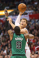 12/27/12 Los Angeles, CA: Los Angeles Clippers power forward Blake Griffin #32 during an NBA game between the Los Angeles Clippers and the Boston Celtics played at Staples Center. The Clippers defeated the Celtics 106-77 for their 15th straight win.