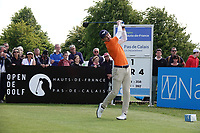 Daan Huizing (NED) in action during the final round of the Hauts de France-Pas de Calais Golf Open, Aa Saint-Omer GC, Saint- Omer, France. 16/06/2019<br /> Picture: Golffile | Phil Inglis<br /> <br /> <br /> All photo usage must carry mandatory copyright credit (© Golffile | Phil Inglis)