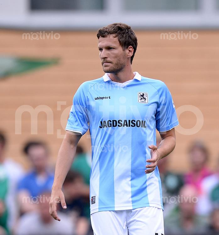 FUSSBALL  1. Bundesliga   2013/2014   Testspiel in Zell am Ziller SV Werder Bremen - 1860 Muenchen      10.07.2013 Benjamin Lauth (1860 Muenchen)