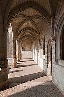 Europe/France/Aquitaine/24/Dordogne/Brantome: <br /> L'abbaye Saint-Pierre de Brantôme est une ancienne abbaye bénédictine - Le Cloître