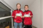 13.05.2018, SV Victoria Gersten e.V., Gersten, GER, FSP, Samtgemeideauswahl Lengerich vs SV Werder Bremen<br /> <br /> im Bild<br /> Kinder mit Eintrittskarten, lt. Werder Bremen werden die Karten gegen Freikarten / Eintritt zum &quot;Tag der Fans&quot; am 11.08. eingetauscht, <br /> <br /> Foto &copy; nordphoto / Ewert