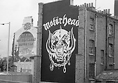 1977: MOTORHEAD - Logo in Shepherds Bush London