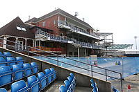 A view of the old pavilion building during Yorkshire CCC vs Essex CCC, Specsavers County Championship Division 1 Cricket at Emerald Headingley Cricket Ground on 15th April 2018