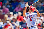 2 March 2019: Washington Nationals third baseman Anthony Rendon in action during a Spring Training game against the Minnesota Twins at the Ballpark of the Palm Beaches in West Palm Beach, Florida. The Nationals defeated the Twins 10-6 in Grapefruit League play. Mandatory Credit: Ed Wolfstein Photo *** RAW (NEF) Image File Available ***
