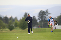 Mike Lorenzo-Vera (FRA) on the 5th fairway during Round 3 of the D+D Real Czech Masters at the Albatross Golf Resort, Prague, Czech Rep. 02/09/2017<br /> Picture: Golffile | Thos Caffrey<br /> <br /> <br /> All photo usage must carry mandatory copyright credit     (&copy; Golffile | Thos Caffrey)