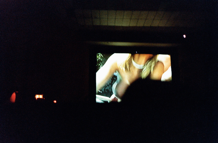 one of the few cinemas left in the center of Mexico city which continue to project pornographic movies.