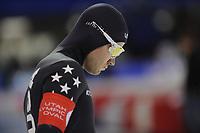SPEEDSKATING: SALT LAKE CITY: 09-12-2017, Utah Olympic Oval, ISU World Cup, 1500m Men A-Division, Joey Mantia (USA), ©photo Martin de Jong