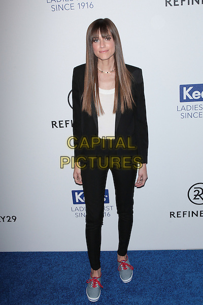 NEW YORK, NY - FEBRUARY 10: Allison Williams attends Keds Centennial Celebration at Studio 548 on February 10, 2016 in New York City.  <br /> CAP/MPI99<br /> &copy;MPI99/Capital Pictures