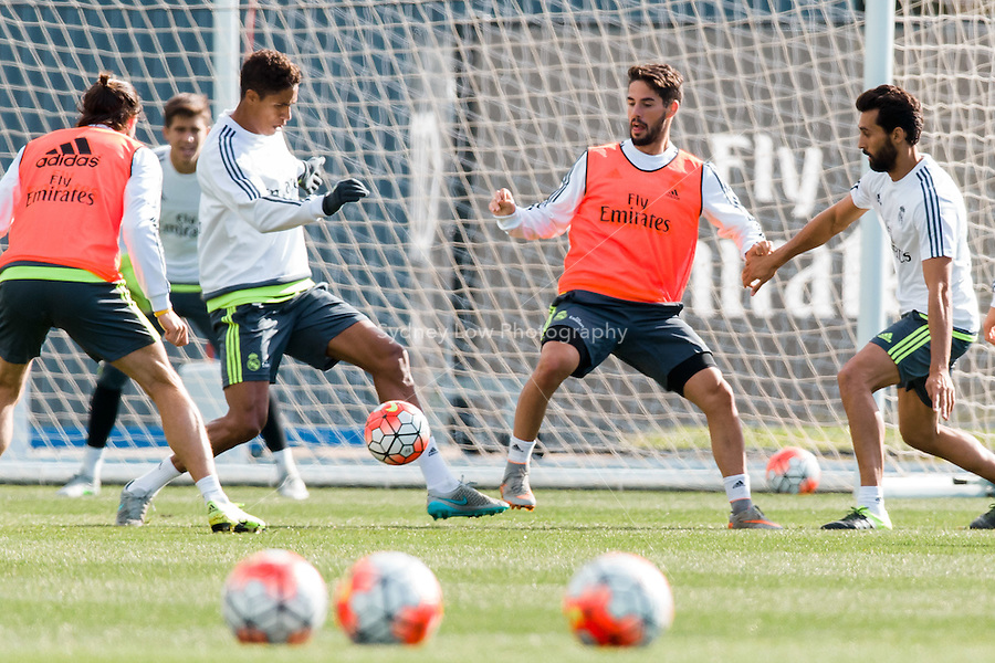 Melbourne, 16 July 2015 - Training session of Real Madrid before their match against AS Roma on 18 July at the 2015 International Champions Cup in Melbourne, Australia. Photo Sydney Low/AsteriskImages.com