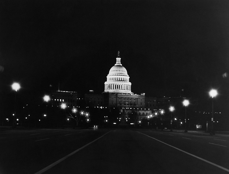 Exterior of Capitol Hill. (Photo by Dev O'Neill/CQ Roll Call via Getty Images)