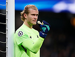 Liverpool's Loris Karius in action during the Champions League Quarter Final 2nd Leg match at the Etihad Stadium, Manchester. Picture date: 10th April 2018. Picture credit should read: David Klein/Sportimage