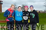 participants who took part in the Kerry's Eye Valentines Weekend 10 mile road race on Sunday were Colette Flannery, Debbie Murphy, Ciara Ni She, Clare Fynn