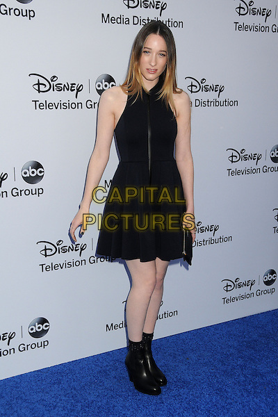 Sophie Lowe.Disney Media Networks International Upfronts 2013 held at Walt Disney Studios, Burbank, California, USA..May 19th, 2013.full length black sleeveless dress ankle boots.CAP/ADM/BP.©Byron Purvis/AdMedia/Capital Pictures