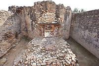 Furnace; Villa of El Munts; I Century AD, Tarragona (Tarraco, Hispania Citerior), Catalonia, Spain; one of the largest built on a hill overlooking the coast, only 12 km from Tarragona (Tarraco). © Manuel Cohen