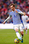 2nd December 2017, Wanda Metropolitano, Madrid, Spain; La Liga football, Atletico Madrid versus Real Sociedad; David Zurutuza (17) of Real Sociedad