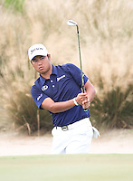 151204 Japan's Hidecki Matsuyama during Friday's Second Round of The Hero World Challenge, at The Albany Golf Club in New Providence, Nassau, Bahamas.(photo credit : kenneth e. dennis/kendennisphoto.com)