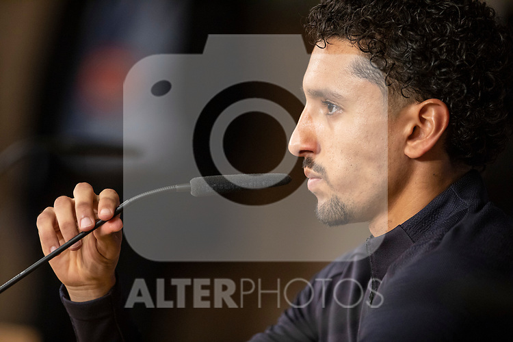 PSG's player Marquinhos during training session. <br /> November 25 ,2019.<br /> (ALTERPHOTOS/David Jar)