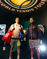 Rotterdam, The Netherlands, 17 Februari, 2018, ABNAMRO World Tennis Tournament, Ahoy, Tennis, Horia Tecau (ROU) / Jean-Julien Rojer (NED)<br /> <br /> Photo: www.tennisimages.com