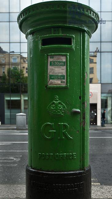 Post Box, Dublin..Photo by Matt Cashore/University of Notre Dame