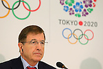 Gilbert Felli, NOVEMBER 15, 2013 : International Olympic Committee (IOC) Executive Director Gilbert Felli attend the press conference after the IOC/Tokyo 2020 Orientation Seminar for Tokyo Olympic Games 2020 at JISS, Tokyo, Japan. (Photo by Yusuke Nakansihi/AFLO SPORT) [1090]