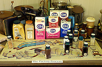 "Sugar products and a display of """"the factory process"""" at the Gay and Robinson sugar factory, which is located in Kaumakane, on Kauai's west side near Hanapepe, and also offers field tours"