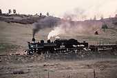 D&amp;RGW #478 leading a westbound freight near Lobato.<br /> D&amp;RGW  Lobato, NM