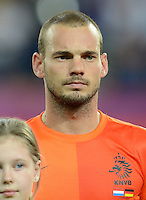 FUSSBALL  EUROPAMEISTERSCHAFT 2012   VORRUNDE Niederlande - Deutschland       13.06.2012 Wesley Sneijder (Niederlande)