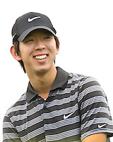 23 JAN 13  Seung Yul Noh enjoying The Farmers Insurance Open at Torrey Pines Golf Course in La Jolla, California. (photo:  kenneth e.dennis / kendennisphoto.com)