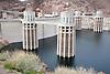 Hoover Dam stock photos. Includes Lake Mead & Hoover Dam Bypass/Colorado River Bridge construction.