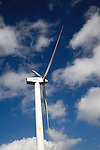 Wind turbine Parque Eolico de Lanzarote wind farm, Lanzarote, Canary Islands, Spain