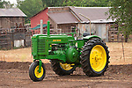 1952 John Deere Model G tractor, last of the 2-cylindar opposed engines.