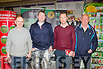 Don Browne, John Feehan Castleisland, Mark Nunan Whelahan's and Dan O'Shea Currow at the Brownes Hardware and Farm Supplies Store open day on Wednesday